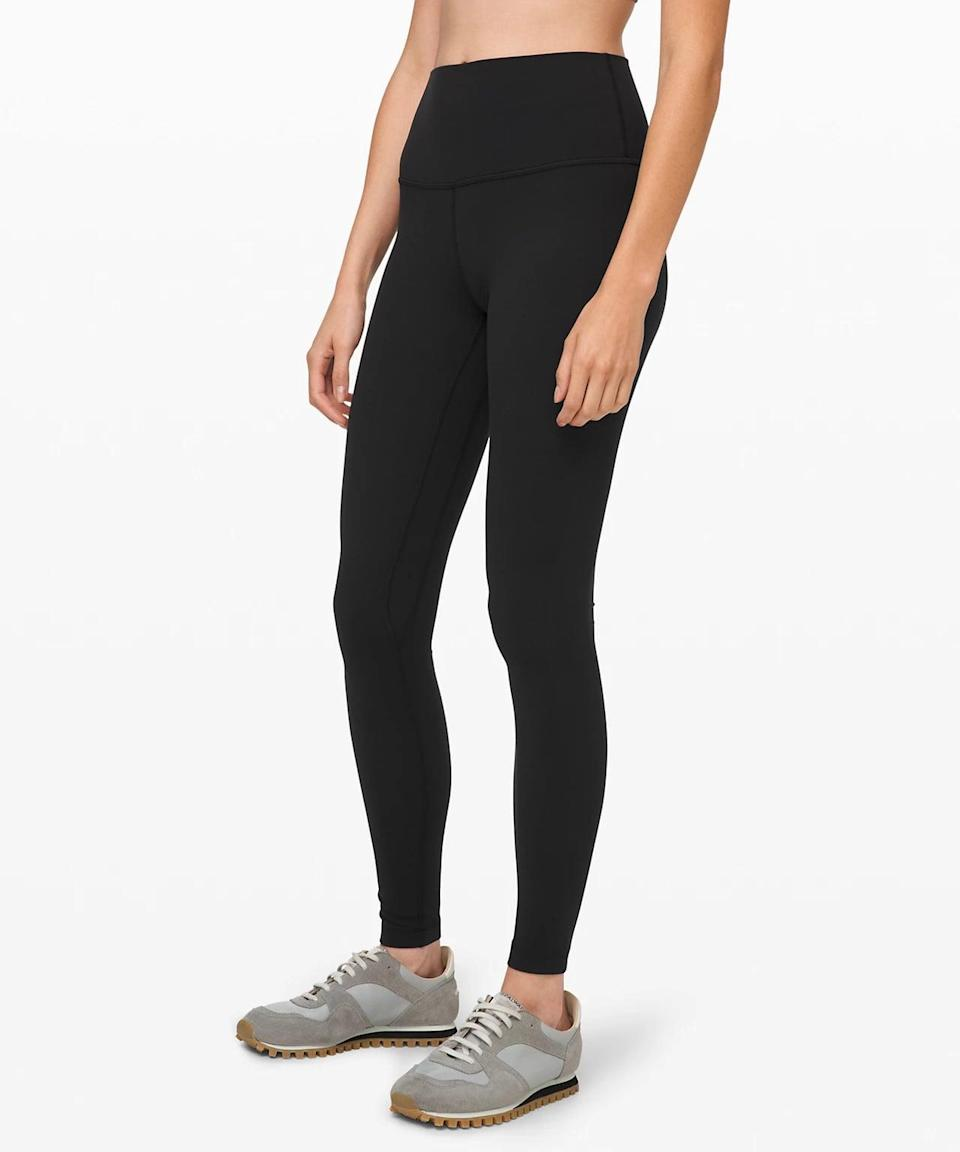 <p>These are the pants that started a movement. If you don't own a pair of these buttery soft <span>Lululemon Align Pants</span> ($98), what are you doing?</p>