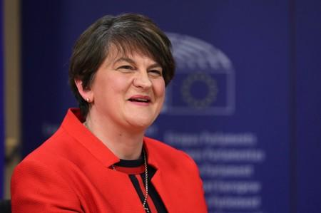 DUP leader Foster says Irish backstop unacceptable but wants sensible Brexit deal