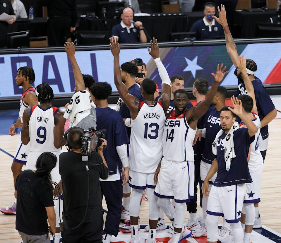 Team USA's men's basketball team hopes to win gold again at the Summer Olympics