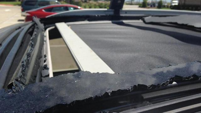 A Houston-area man says the glass sunroof of his Kia SUV exploded, leaving him with damaged eyesight and a warning for others. (KTRK Houston)
