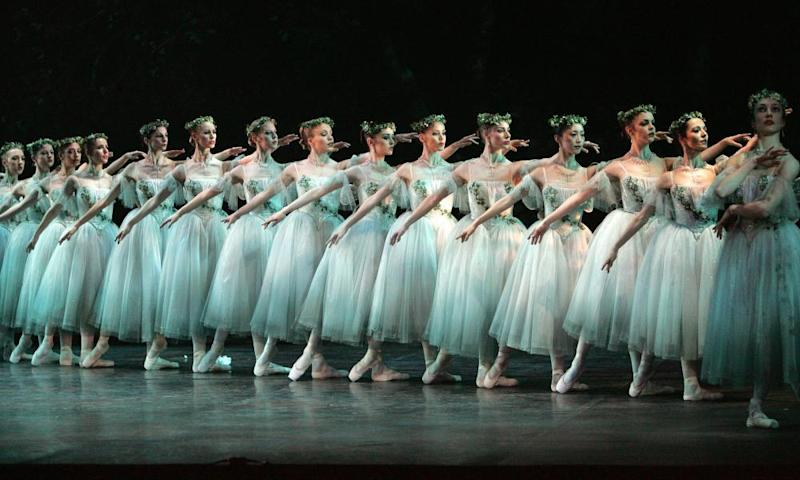 English National Ballet performed Giselle at the Mayflower.