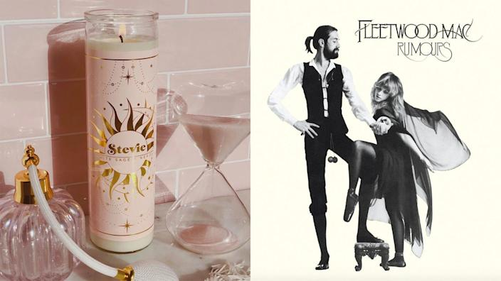 """Best 30th birthday gift ideas: Fleetwood Mac's """"Rumours"""" and a Stevie candle"""