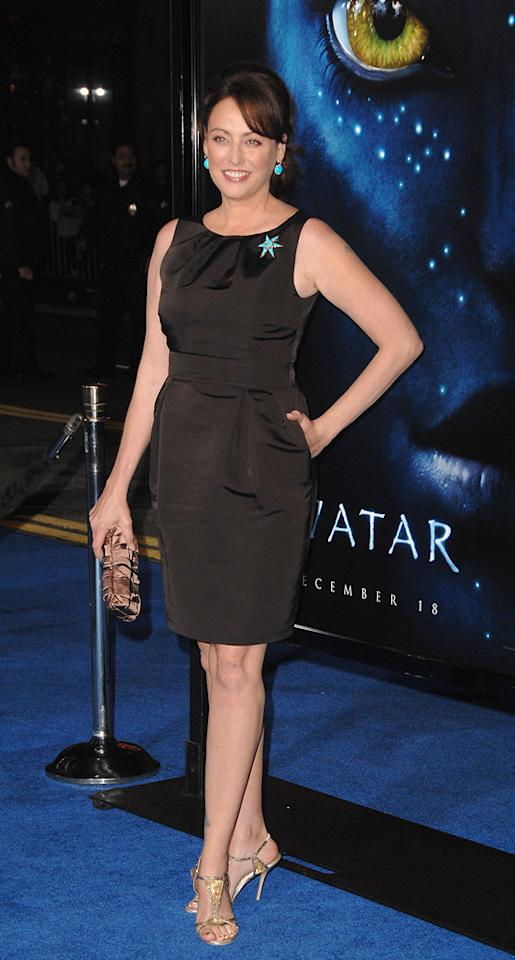 """<a href=""""http://movies.yahoo.com/movie/contributor/1800011462"""">Virginia Madsen</a> at the Los Angeles premiere of <a href=""""http://movies.yahoo.com/movie/1809804784/info"""">Avatar</a> - 12/16/2009"""