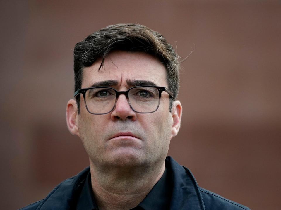 Greater Manchester mayor Andy BurnhamGetty Images