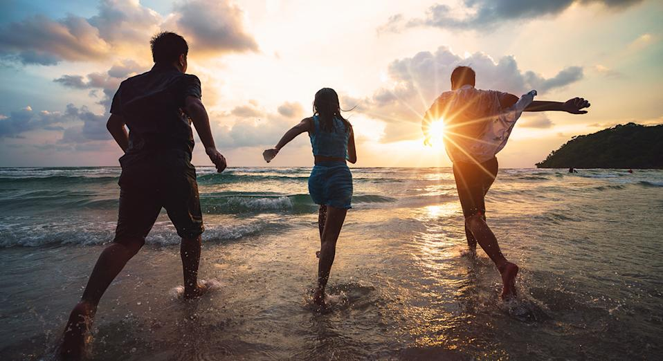 UK staycations are a popular choice for couples, families, groups of friends and solo travellers looking for a holiday this summer.  (Getty Images)