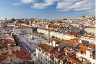 <p>Built where the River Tagus meets the Atlantic Ocean, the seaside capitol of Portugal boasts not only watery vistas but also centuries worth of decadent architecture and gardens. Run for miles along the shoreline before pivoting inward through the streets and past churches and castles of a bygone era.</p>