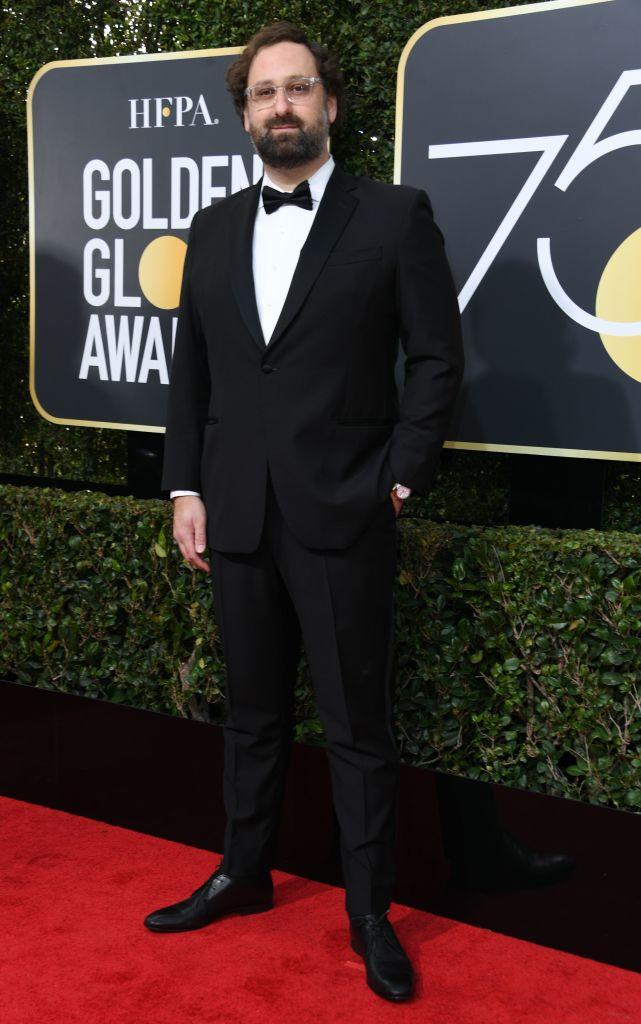 <p>The <em>Master of None</em> actor attends the 75th Annual Golden Globe Awards at the Beverly Hilton Hotel in Beverly Hills, Calif., on Jan. 7, 2018. (Photo: Steve Granitz/WireImage) </p>