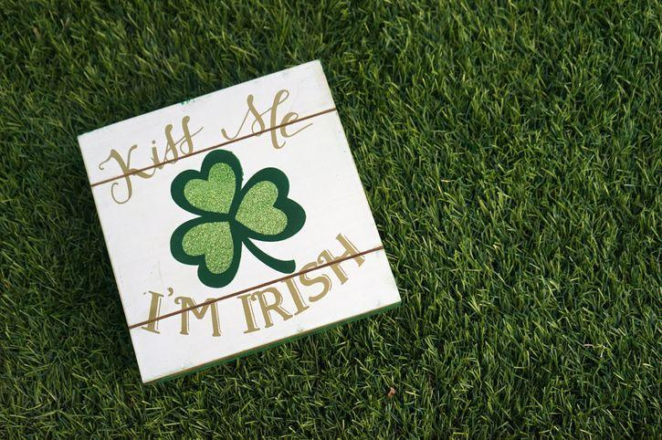 """<p>March 17 is just around the corner, which means that you are probably ready to start to thinking about what St. Patrick's Day decorations you'd like to use to gussy-up your house this year. If you're looking for some DIY <a href=""""https://www.countryliving.com/diy-crafts/how-to/g4035/st-patricks-day-crafts/"""" rel=""""nofollow noopener"""" target=""""_blank"""" data-ylk=""""slk:St. Patrick's Day crafts"""" class=""""link rapid-noclick-resp"""">St. Patrick's Day crafts</a> to jazz-up your space or celebration, then this list has just what you need. For seasonal touches, try the gold shamrock mason jars or the framed moss shamrock, both of which are perfect for displaying during the weeks leading up to St. Paddy's Day. If you're looking for touches to add to your party to complement your themed <a href=""""https://www.countryliving.com/food-drinks/g2251/st-patricks-day-recipes/"""" rel=""""nofollow noopener"""" target=""""_blank"""" data-ylk=""""slk:recipes for celebrating St. Patrick's Day"""" class=""""link rapid-noclick-resp"""">recipes for celebrating St. Patrick's Day</a>, there are so many great ideas. The leprechaun hat treat cup is a great option for kids' to craft, or the St. Patrick's Day napkin wraps are ideal for setting a festive table at a dinner party with family.</p><p>Many of these decorations are printables of <a href=""""https://www.countryliving.com/life/g19045953/st-patricks-day-quotes/"""" rel=""""nofollow noopener"""" target=""""_blank"""" data-ylk=""""slk:St. Patrick's Day quotes"""" class=""""link rapid-noclick-resp"""">St. Patrick's Day quotes</a>, so the projects will be quick and easy to pull together. You can even create some of these decor ideas with your kids, like the glittery leprechaun hat or rainbow terrariums. These easy DIY St. Patrick's Day decorations will ensure a giddy time, whether you're snacking on some <a href=""""https://www.countryliving.com/food-drinks/g2262/st-patricks-day-boozy-desserts/"""" rel=""""nofollow noopener"""" target=""""_blank"""" data-ylk=""""slk:St. Patrick's Day boozy desserts"""" class=""""link rapid-noclick-res"""