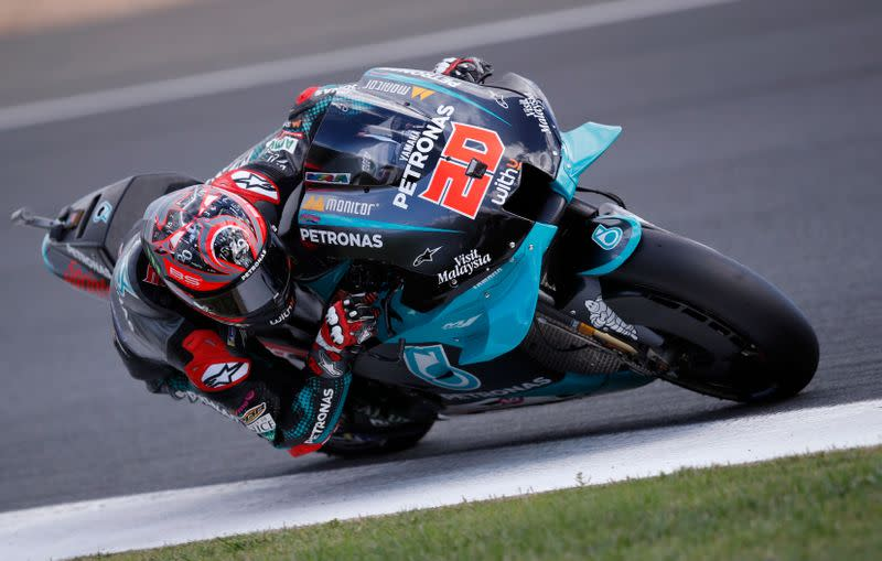 Motorcycling: Home favourite Quartararo captures pole in France
