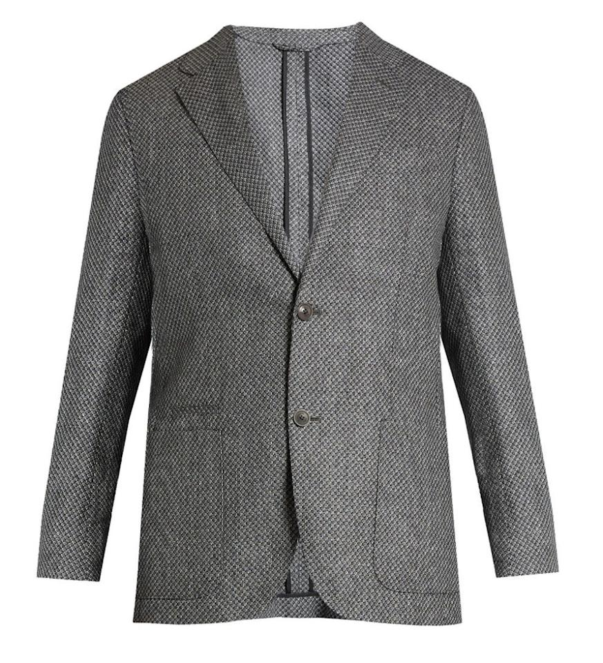 "<p>For when you need to dress up, either at the office or on a date. </p><p><em>$1,352, <a rel=""nofollow"" href=""http://www.matchesfashion.com/us/products/Ermenegildo-Zegna-Single-breasted-silk-blend-blazer--1086293"">matchesfashion.com</a></em><br></p>"