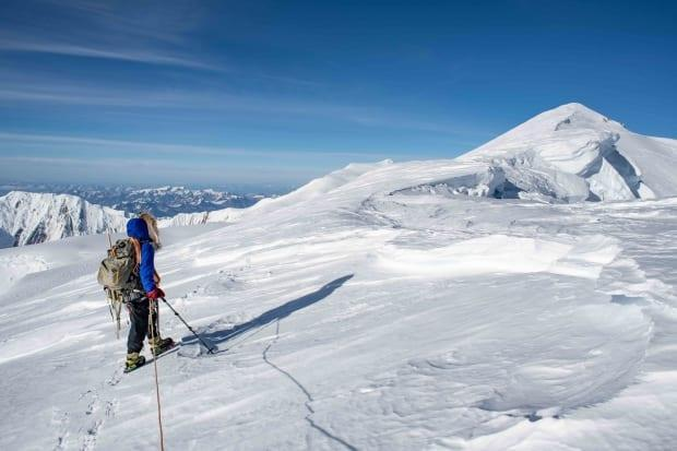 The mountaineers had cold days and white-out conditions at times, but also days of blue sky and sunshine.