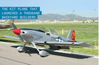 """<p>By quitting his day job to build an airplane of his own design in the garage behind his house, Richard VanGrunsven quietly began the most successful aircraft kit-building company in history. </p><p>His first attempt at aircraft design was a modified Sitts Playboy that he affectionately label RV-1. Hitting a plateau on performance, he tried a clean sheet design, but the RV-2 never reached completion. Still yearning for a fast and affordable aerobatic platform that could operate from very short runways, he headed back to the drawing board and created the RV-3. Able to reach 200 mph with only 150 horsepower, the single-seat taildragger was an instant success. </p><p>VanGrunsven continued to build a line of <a href=""""https://www.popularmechanics.com/flight/news/g3165/oshkosh-air-show-2017/"""" rel=""""nofollow noopener"""" target=""""_blank"""" data-ylk=""""slk:successful kit aircraft"""" class=""""link rapid-noclick-resp"""">successful kit aircraft</a> based on this original RV-3 for four decades, and the business eventually outgrew two facilities. Now, each year the number of aircraft built that were designed by VanGrunsven outnumbers the combined production of all commercial general aviation companies. More than 8,500 DIYers have completed and flown their RVs, with many more to come.</p>"""