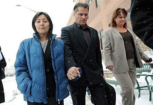 """Richard and Mayumi Heene pleaded guilty in 2009 to the """"balloon boy"""" hoax, which became a worldwide media sensation with millions watching live as police pursued the silver helium ballon through the skies for 70 miles"""