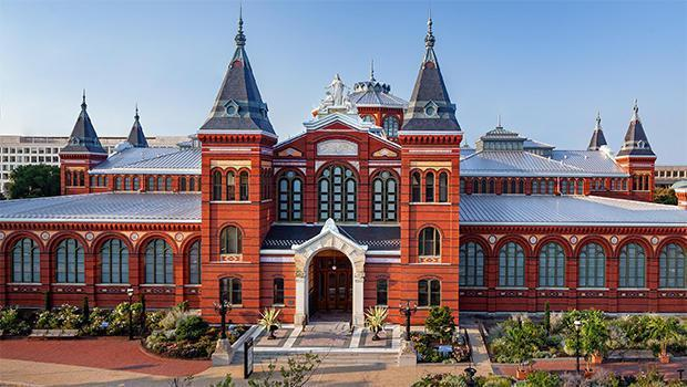 The Smithsonian Arts and Industries Building. / Credit: Ron Blunt Architectural Photography/Smithsonian