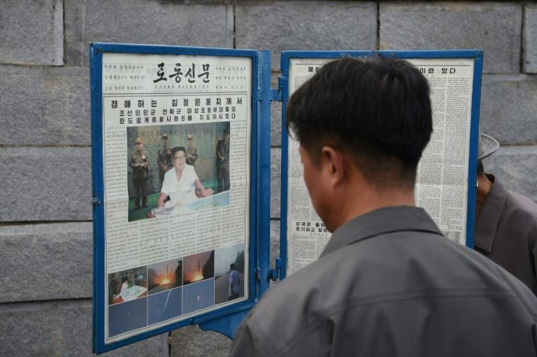North Korea took bottom place in the latest World Press Freedom Index