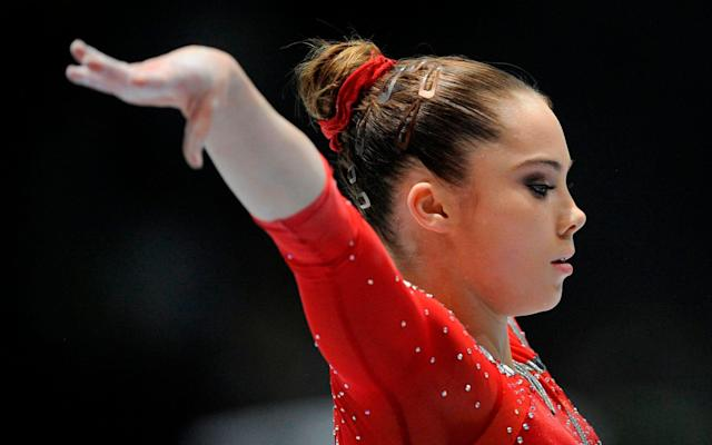 McKayla Maroney's possible $100,000 fine from USA Gymnastics will no longer be put into effect. (Jae C. Hong/AP)