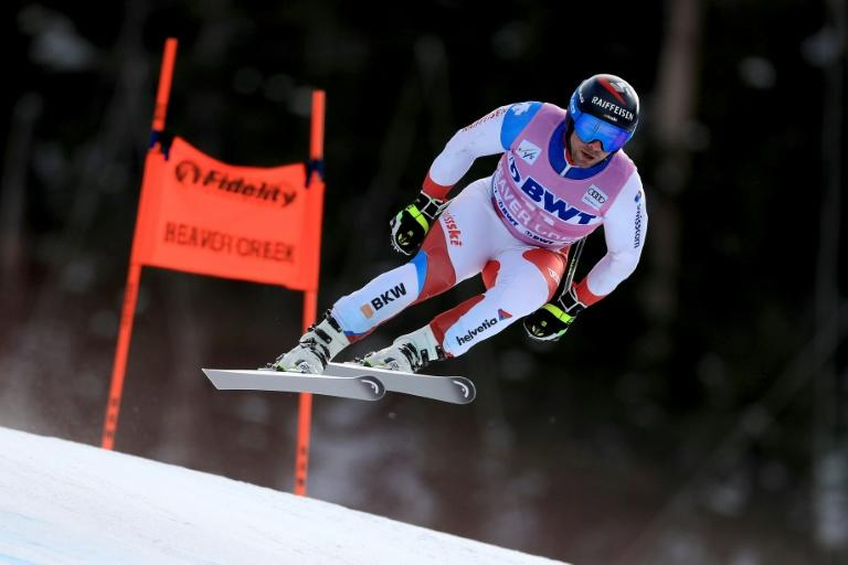 Beat Feuz clinched back-to-back wins in the men's downhill at Beaver Creek on Saturday