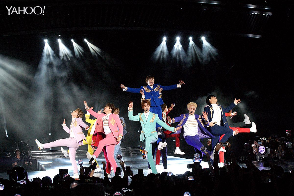 <p>K-pop group Seventeen shine like diamonds at first concert in Singapore </p>