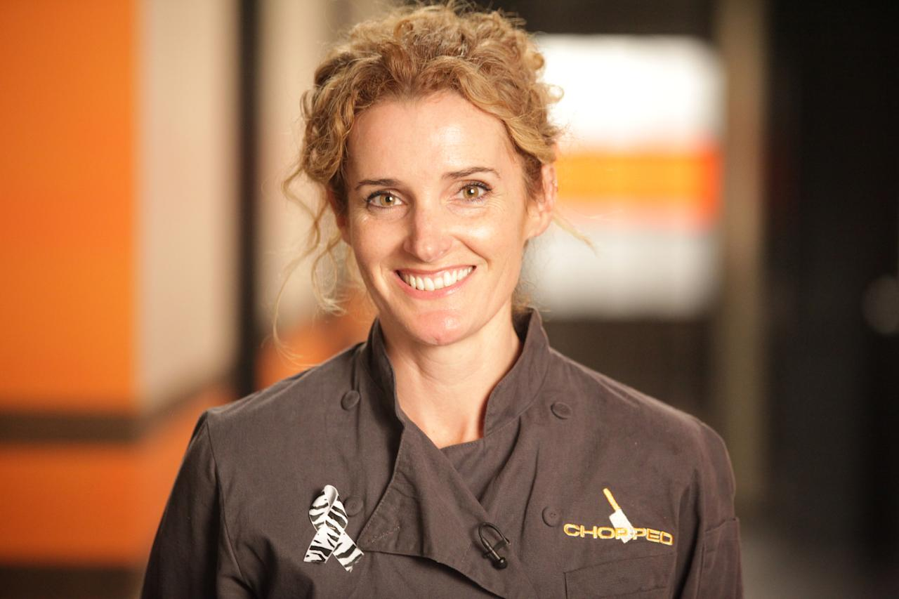 """Food Network Star"" Season 3: Amy Finley"