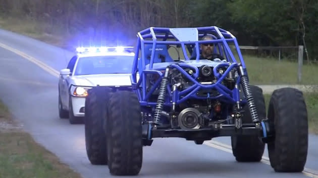Rock Bouncer Vs Police Chase Is Just Good Old Boys Never