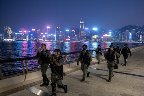 Hong Kong has been rocked by more than six months of political unrest, with regular clashes between protesters and police. Photo: Bloomberg