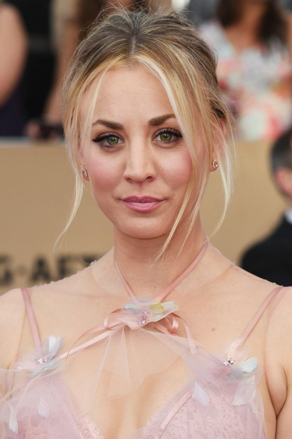 "<p>Kaley Cuoco revealed to <a href=""https://www.womenshealthmag.com/life/a19924918/kaley-cuoco-plastic-surgery/"" rel=""nofollow noopener"" target=""_blank"" data-ylk=""slk:Women's Health US"" class=""link rapid-noclick-resp"">Women's Health US</a> that having a breast augmentation was ""the best thing I ever did"". The actress, who has also spoken about having rhinoplasty and a round of fillers, also commented: ""As much as you want to love your inner self, I'm sorry, you also want to look good. I don't think you should do it for a man or anyone else, but if it makes you feel confident, that's amazing.""</p>"