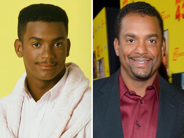 "<strong>Alfonso Ribeiro</strong><br><br><strong>Played:</strong> Straight-laced Carlton Banks<br><br><strong>Now:</strong> The child actor who first gained recognition as ""The Tap Dance Kid"" on Broadway and for dancing in a Pepsi commercial with Michael Jackson became world-famous on ""Fresh Prince"" for the much-copied ""Carlton Dance."" Now, Ribeiro has graduated to directing, regularly helming episodes of TBS sitcoms ""Meet the Browns"" and ""Are We There Yet?"""