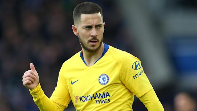 Eden Hazard has been heavily linked with a move to Real Madrid and their coach, Zinedine Zidane, has revealed he is a huge fan.