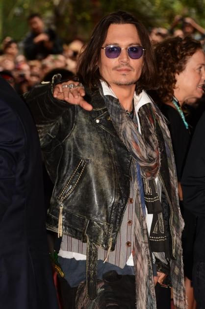 Johnny Depp attends the 'West Of Memphis' premiere during the 2012 Toronto International Film Festival at Ryerson Theatre in Toronto on September 8, 2012 -- Getty Images