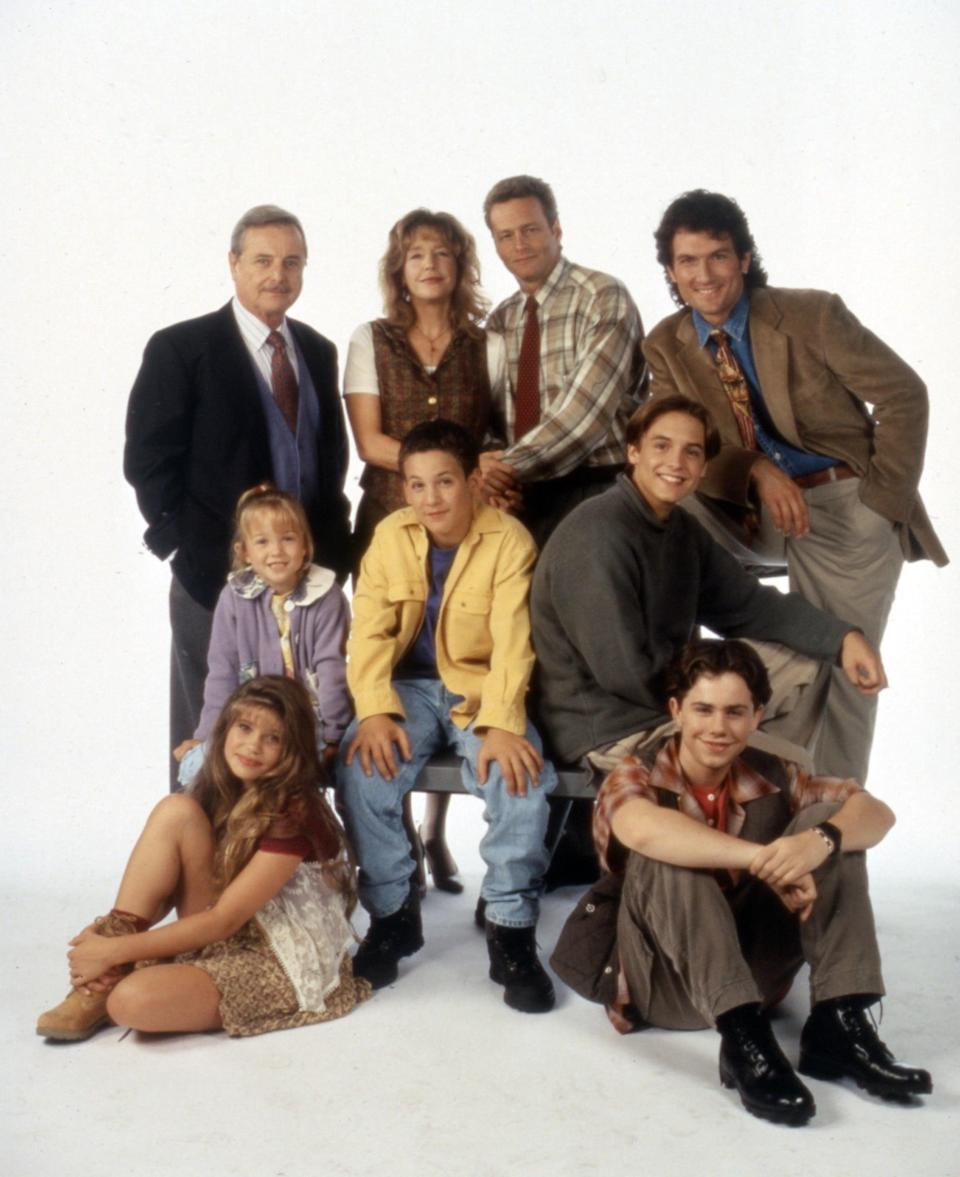 <ul> <li><b>What to wear for Cory Matthews:</b> A bright t-shirt with an even brighter button-down on top. Add jeans, sneakers, and a short, curly wig.</li> <li><b>What to wear for Shawn Hunter:</b> A baggy plaid shirt and jeans, a leather jacket and boots, and center-parted hair.</li> <li><b>What to wear for Topanga Lawrence:</b> A crimped wig, printed top and vest, and light-wash jeans.</li> <li><b>How to act:</b> Like you'd rather be anywhere else than in Mr. Feeny's class.</li> </ul>