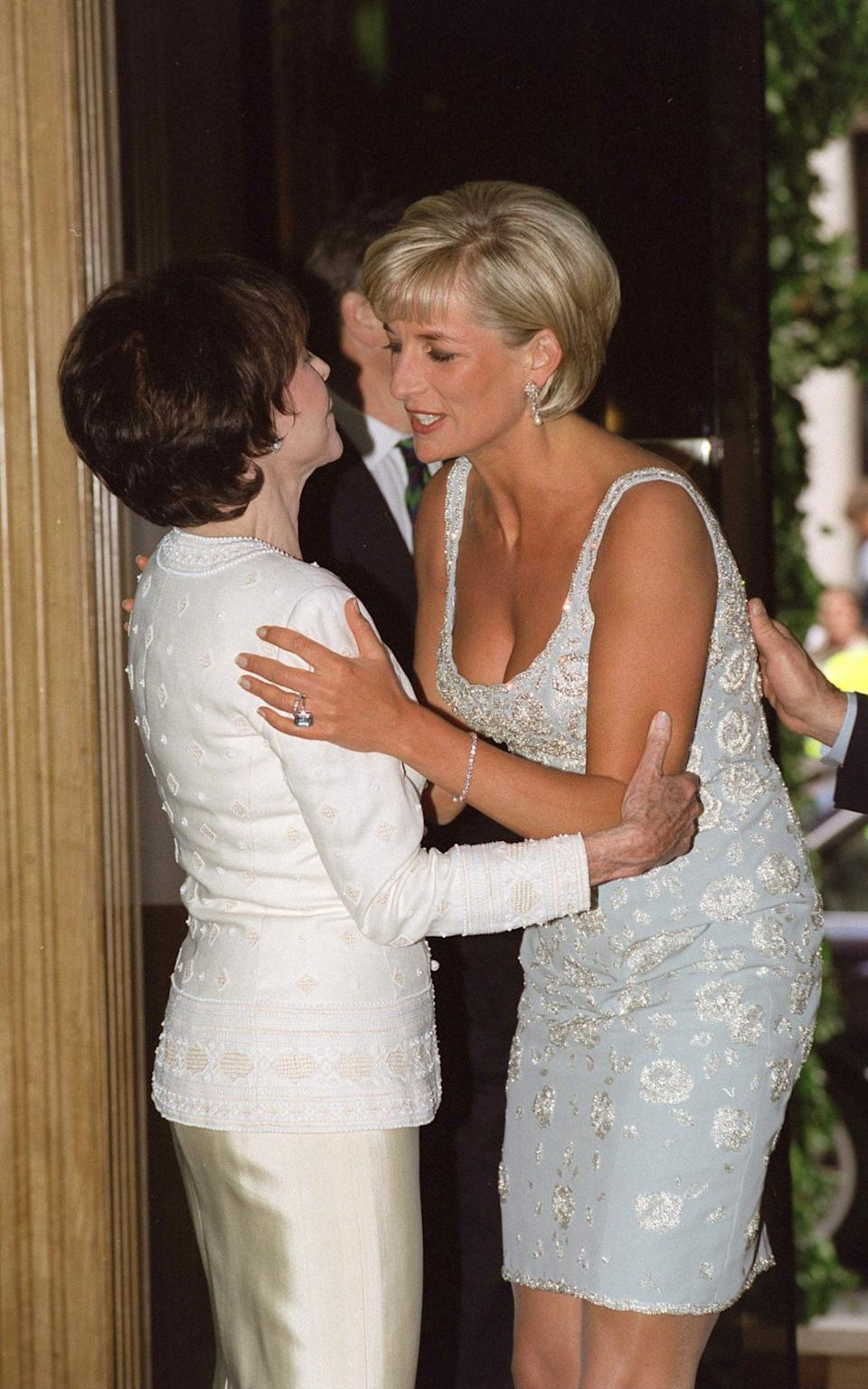 With Diana, Princess of Wales - Tim Graham Photo Library via Getty Images