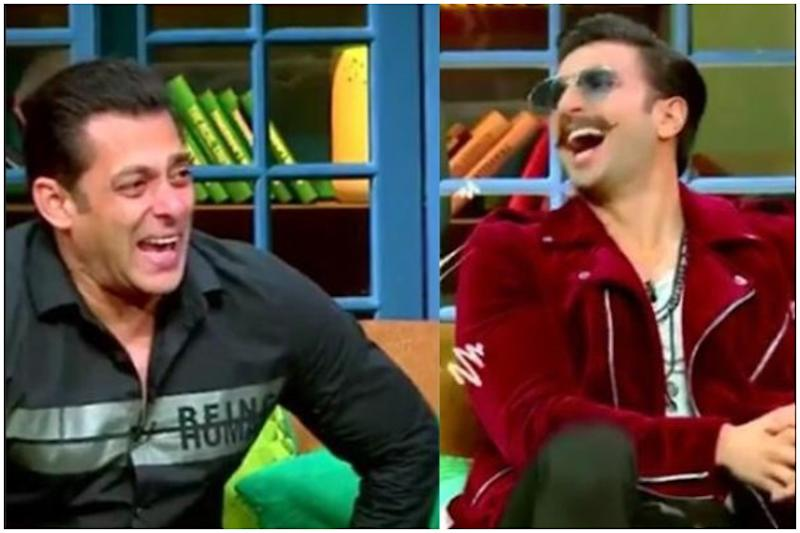 The Kapil Sharma Show: Salman Khan and Ranveer Singh Can't Stop Laughing in the New Promo