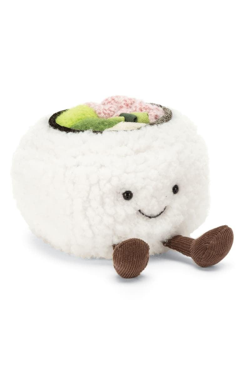 <p>This <span>Jellycat Silly Sushi California Roll Plush Toy</span> ($15) is almost cute enough to eat.</p>