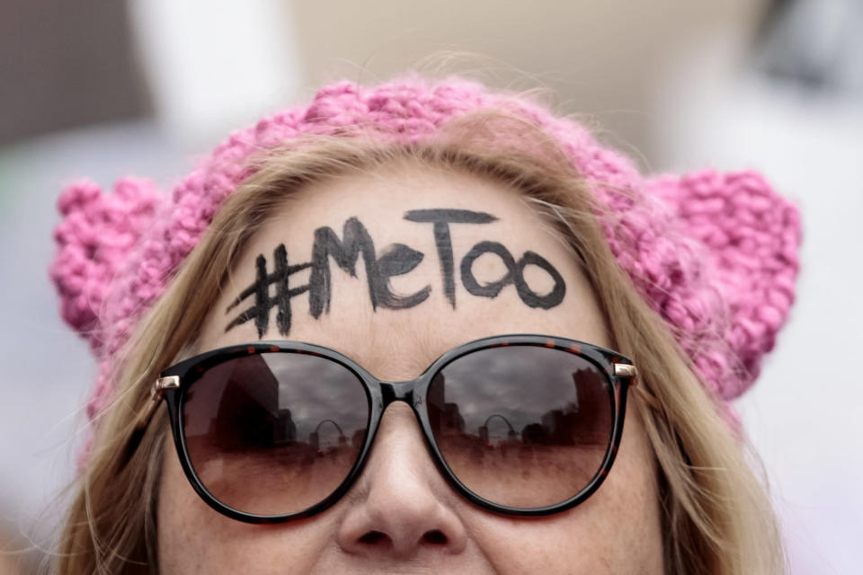 #MeToo – a huge step forward but more needs to be done [Photo: Getty]