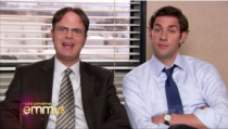 <p>The 2011 Emmys featured a perfect skit based on <em>The Office</em> where characters from popular television shows at the time became new co-workers. The skit was based on each character explaining why they didn't like their job. It featured appearances by Aaron Paul, Kim Kardashian, Aziz Ansari, and Ashton Kutcher.</p>