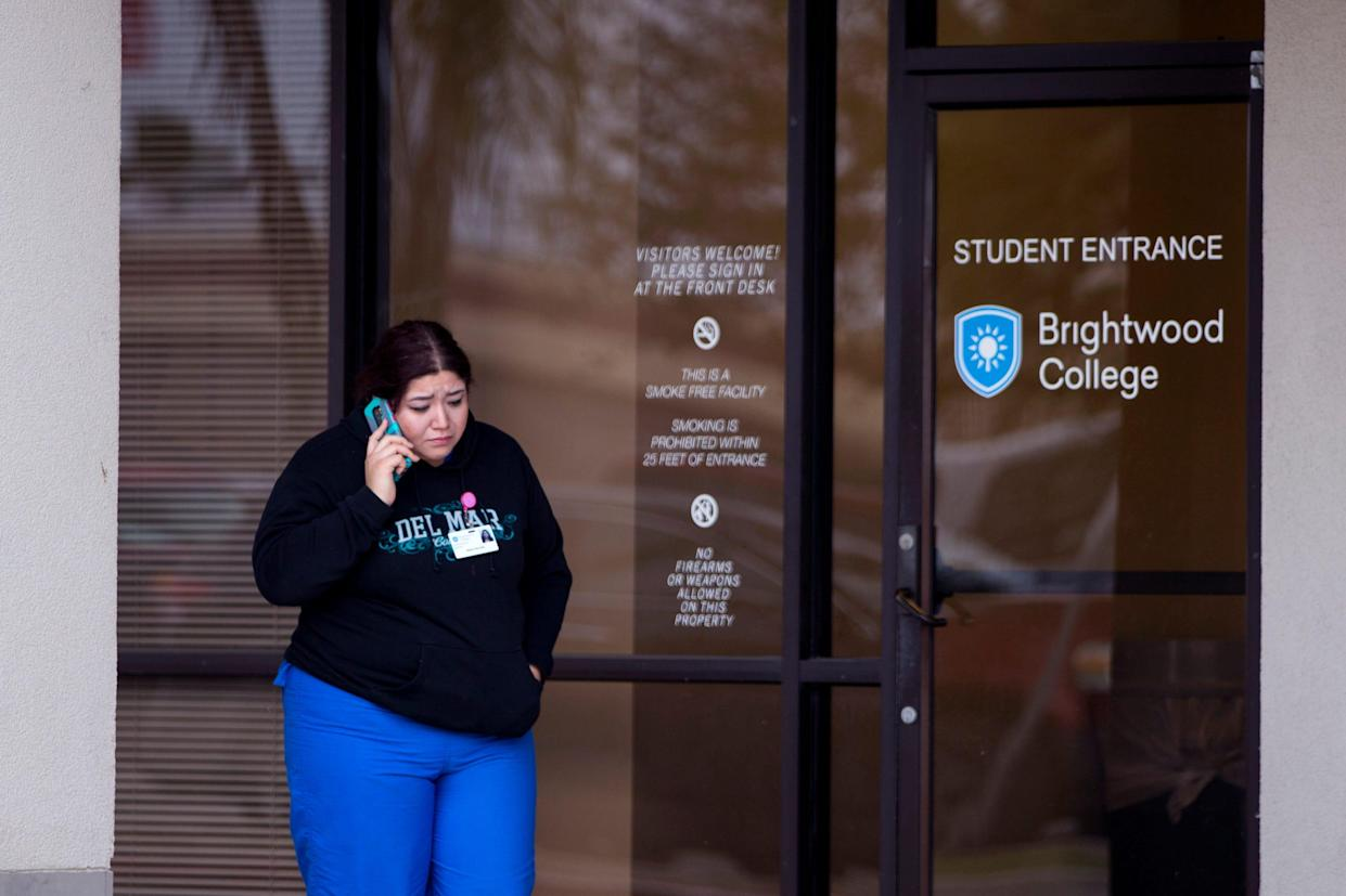 Alexis Gurrola, a dental assisting student at Brightwood College, said she was told Wednesday, December 5, 2018 that the college was closing. She said students and staff were told they would finish out the week, but that classes would not resume next week.