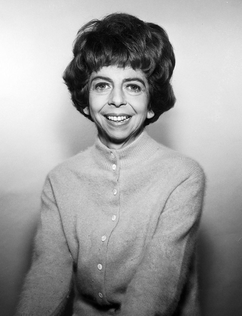 <p>Pearce, who played nosy neigbor Gladys Kravitz on the classic sitcom <em>Bewitched, </em>was nominated for and later won her first Emmy in 1966, just months after her death from ovarian cancer. </p>