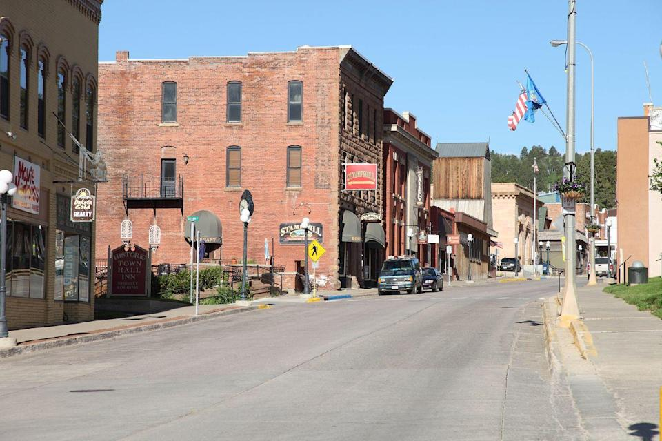 <p>If Mount Rushmore is on your bucket list, skip the bustling Rapid City and stay at this quieter escape instead. It was once s a mining town, but has since lost the coal and kept the charm. Visit the Black Hills Mining Museum to gain a deeper appreciation of the town's history.</p>