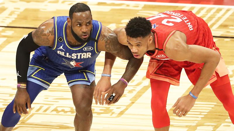 LeBron James and Giannis Antetokounmpo, pictured, put on a show that fans say was the best All-Star game in years.