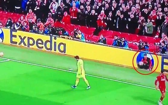 One Liverpool ballboy was praised for his quick thinking on Liverpool's fourth goal against Barcelona - BT Sport
