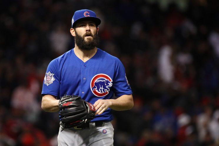 Jake Arrieta is a man of his word. (Getty Images/Ezra Shaw)