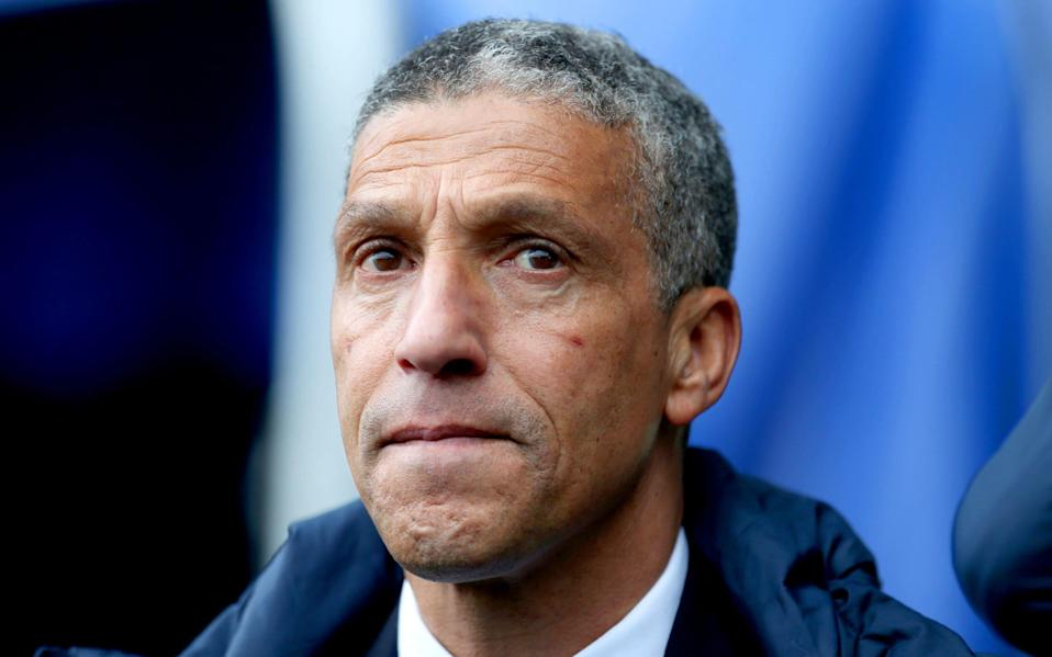 Chris Hughton was sacked by Brighton on Monday - PA