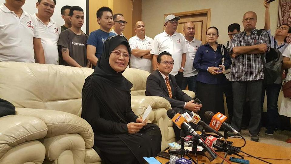Sarawak Minister of Welfare, Community Wellbeing, Women, Family and Childhood Development Datuk Seri Fatimah Abdullah said the wing welcomes the recent ruling of the Kuala Lumpur High Court on September 9, which allowed Malaysian mothers to confer citizenship to their children who are born abroad. — Picture by Sulok Tawie