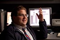 """Jonah Hill, was nominated for best supporting actor for his role as Billy Beane's assistant Peter Brand in """"Moneyball."""" Co-star Brad Pitt scored a best actor nod."""