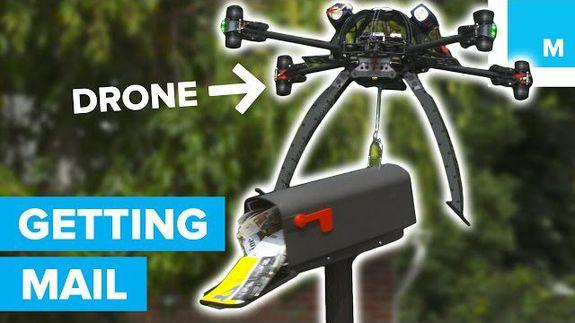 Can a drone get the mail?
