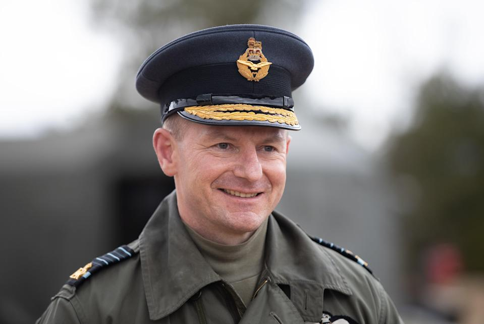 Air Chief Marshall Sir Mike Wigston said the system would help protect UK interests in space (Andrew Matthews/PA) (PA Wire)