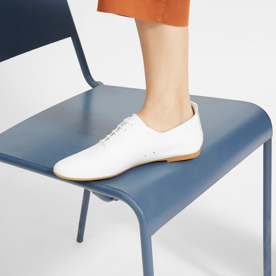 The Day Court Shoe in White