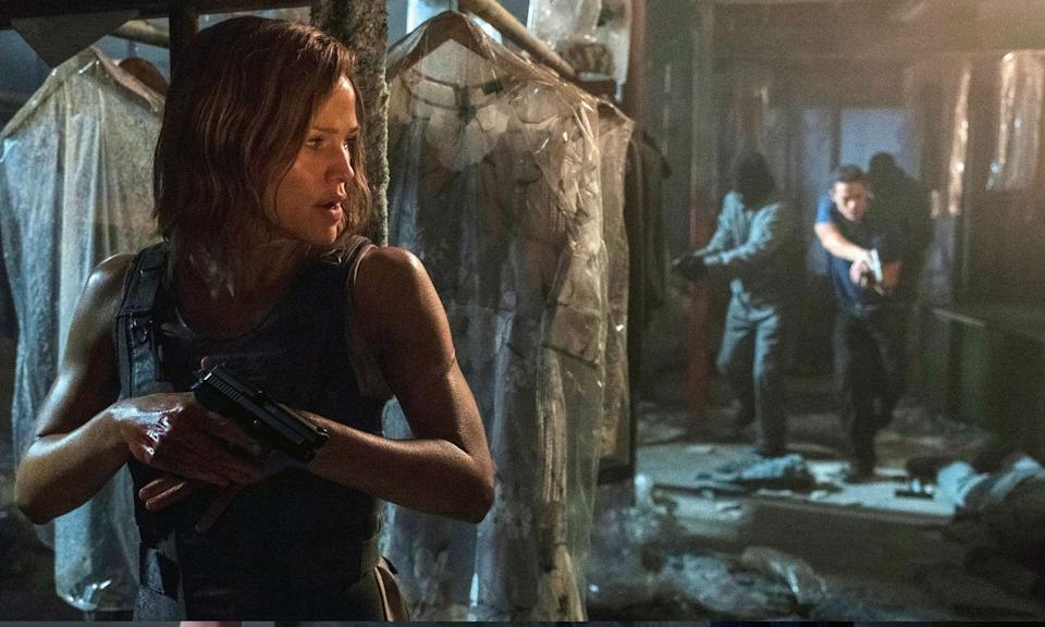 <p>Jennifer Garner is back with a vengeance in this movie about a widowed mother who takes down the criminals who murdered her family in cold blood. </p>
