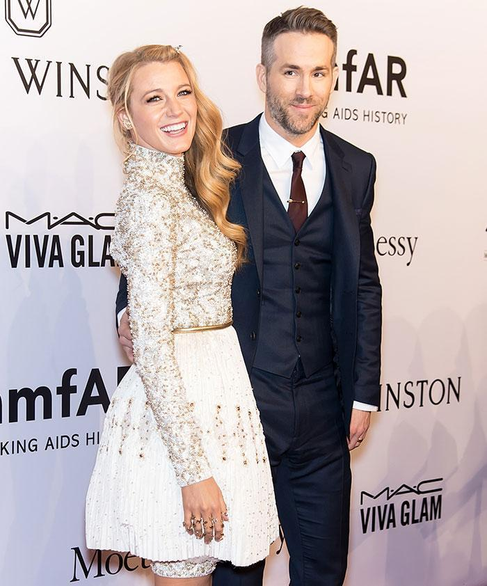 Blake Lively and her husband, Ryan Reynolds. (Photo: Getty Images)