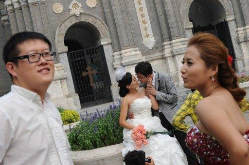 In Beijing, the divorce rate has risen from 11,582 in 2004 to 21,013 last year